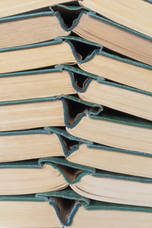 Image of stack old hardcover bound books Banque d'images
