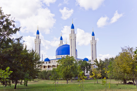Photo of Islam mosque of South Russia Stock Photo