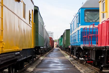 Photo of the Russian rail road coach