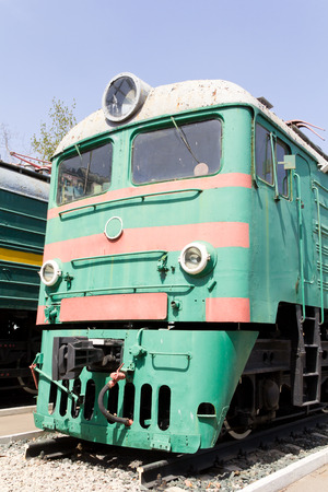 Photo de russe locomotive de chemin de fer � Samara