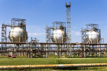 reservoirs: A complex oil refinery reservoirs for keeping
