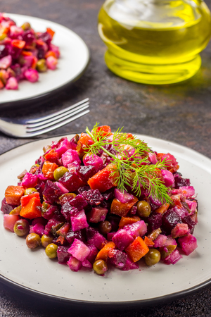 Salad from the beet.