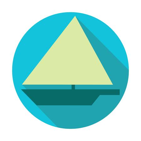 lifeboat: Icons_circle_Boat Illustration