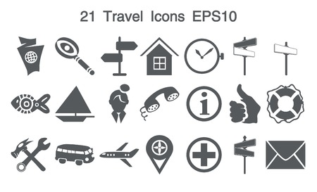 thump up: 21 Grey Icons