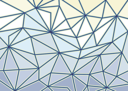 crystallization: Abstract glass triangles background Illustration