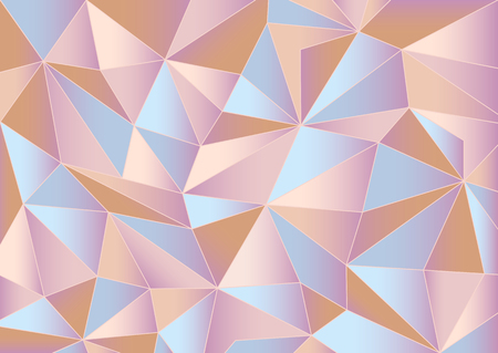 Abstract pink triangles background Illustration