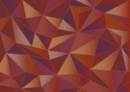 Abstract red triangles background Illustration