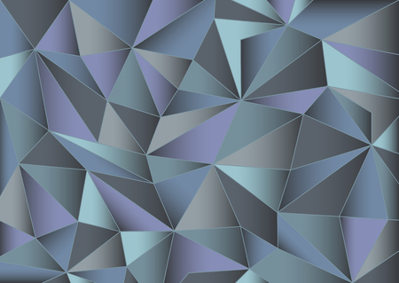 crystallization: Abstract gray triangles background