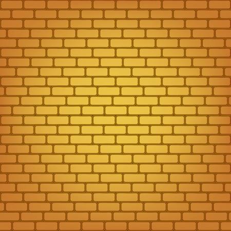 stonewall: Vector brick wall seamless background.