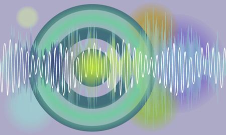volume: Vector music volume abstract background