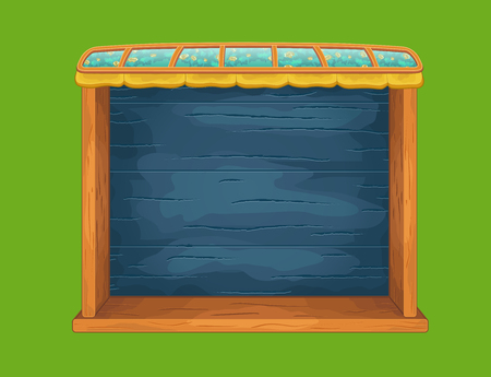 wooden shelf: Game wooden shelf window