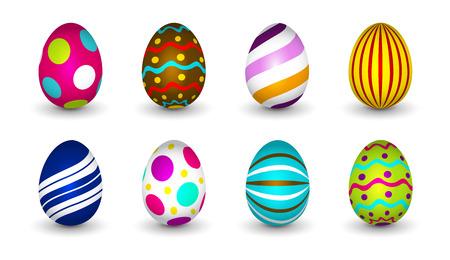 Easter eggs - Happy Easter Illustration