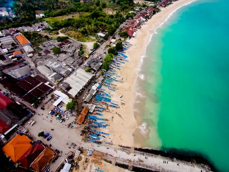 turqoise: Beach birdview
