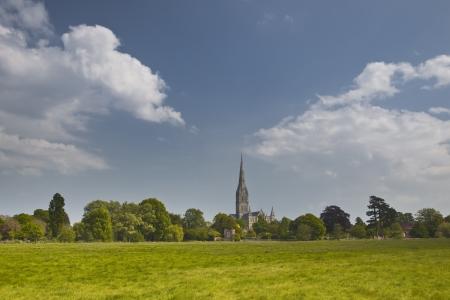 Salisbury Cathedral, Salisbury, Wiltshire, England, UK. photo