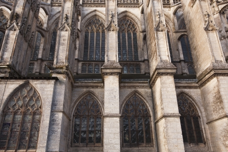 abbaye: The abbaye de la trinte (Abbey of the Holy Trinity), Vendome, France. Stock Photo