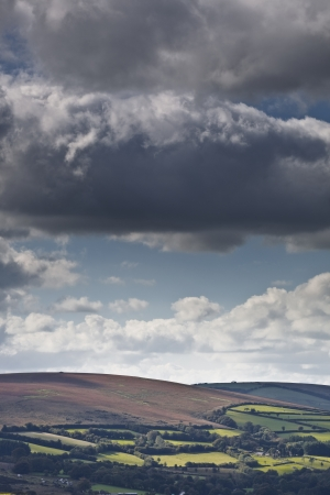 exmoor: The landscape of Exmoor national park.