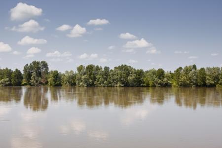 De rivier de Loire in Frankrijk