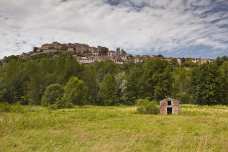 The beautiful village of Cordes sur Ciel in the Tarn area of France. Stock Photo - 14479180