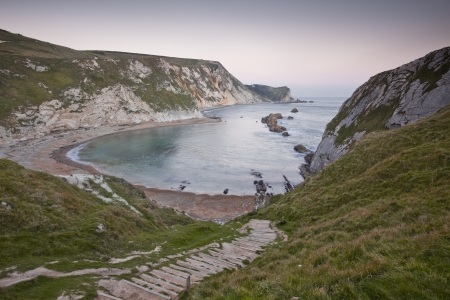Man of War Bay, Jurassic Coast, Dorset Stock Photo - 14511217