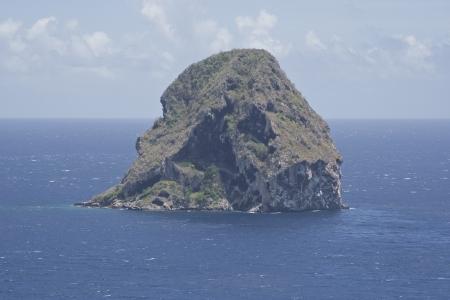 De Diamond Rock in Martinique