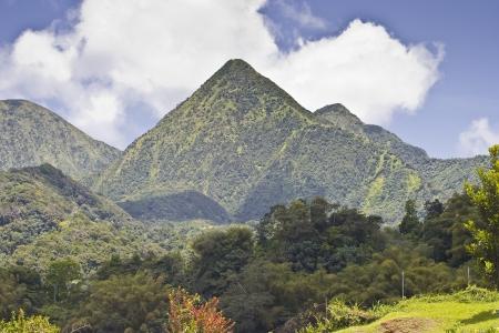 Bergen op het eiland Martinique