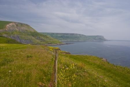 south west coast path: Il South West Coast Path nel Dorset Archivio Fotografico