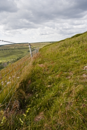 chapmans: The south west coast path near to Chapmans Pool in Dorset. Stock Photo