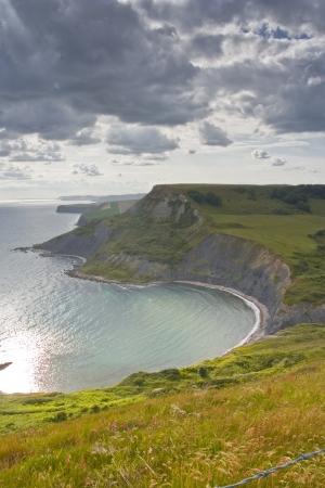 chapmans: Chapmans Pool on the Dorset coastline.