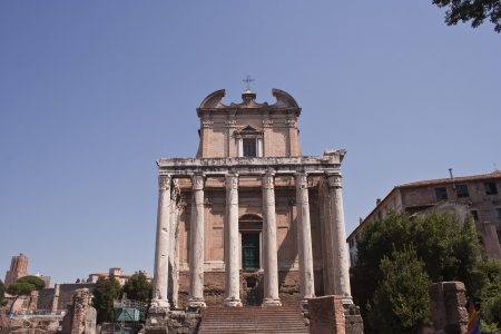 The roman forum in Rome, Italy  Stock Photo - 25101412