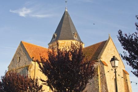 Eglise Saint Marie Madelaine in Villefranche sur Cher, France. Stock Photo