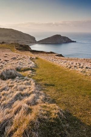 Worbarrow Bay and Tout on the Dorset coastline.