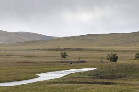 Onon-Balj National Park in Mongolia.