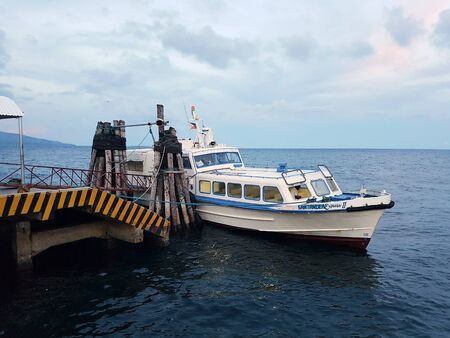 Ferry Santander Express II from Cebu to Negros docked