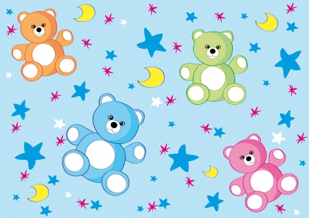 bear background 1 Vector