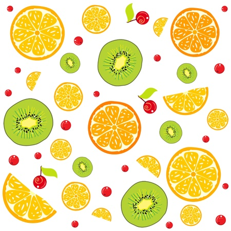 lemon background Stock Vector - 17465987