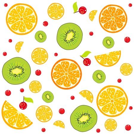 lemon background Stock Vector - 17465987