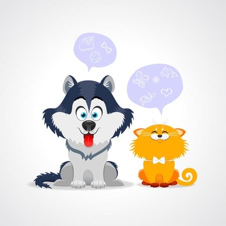 perro familia: gato