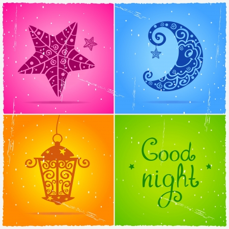 nochebuena: Buenas noches Foto de archivo