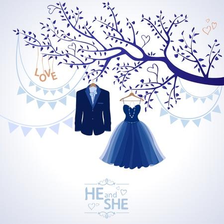he she: He and she