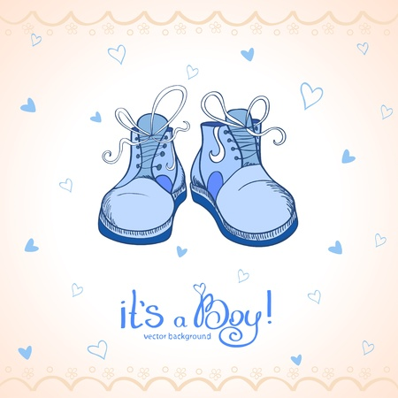 bootees: Boy shoes