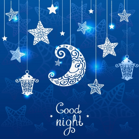buonanotte: Notte blu