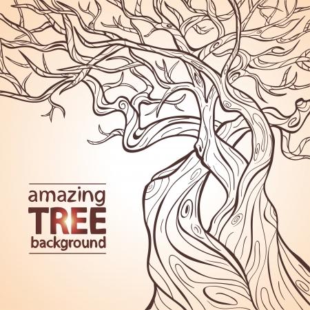 arboles frondosos: Tree incre�ble