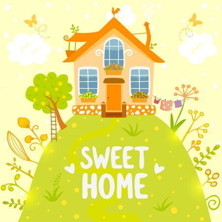 welcome home: sweet home