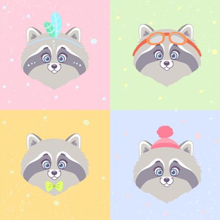 raccoons: Raccoons set