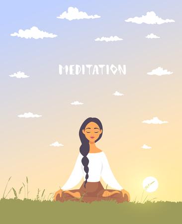meditation dawn