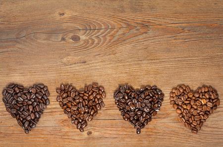 addictive drinking: Coffee Bean Hearts