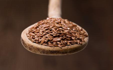 organic flax seed: Flax Seeds Stock Photo