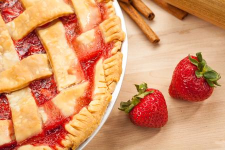 strawberry: Strawberry Pie