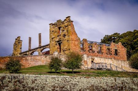 convict: Historic Convict Structures in Port Arthur, Tasmania, Australia