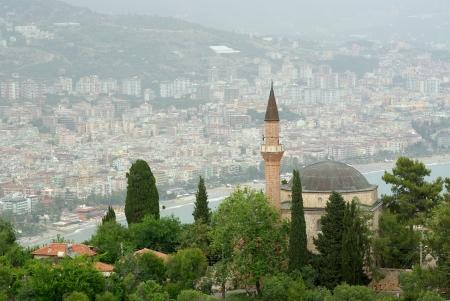 Alanya Landschaft, Türkei Mit Beschneidungspfade Standard-Bild - 17995341
